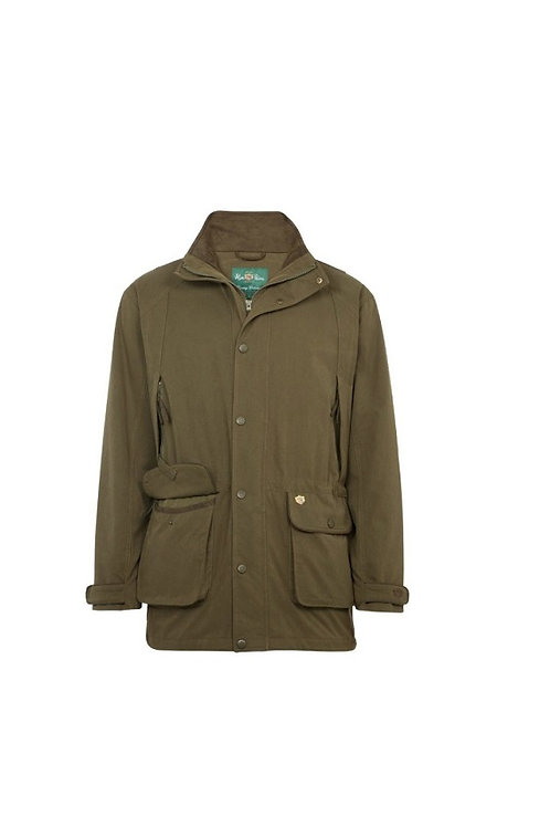 ALAN PAINE OLIVE DUNSWELL WATERPROOF SHOOTING JACKET