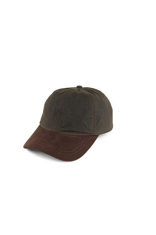 FAILSWORTH OLIVE/BROWN WAXED BASEBALL HAT