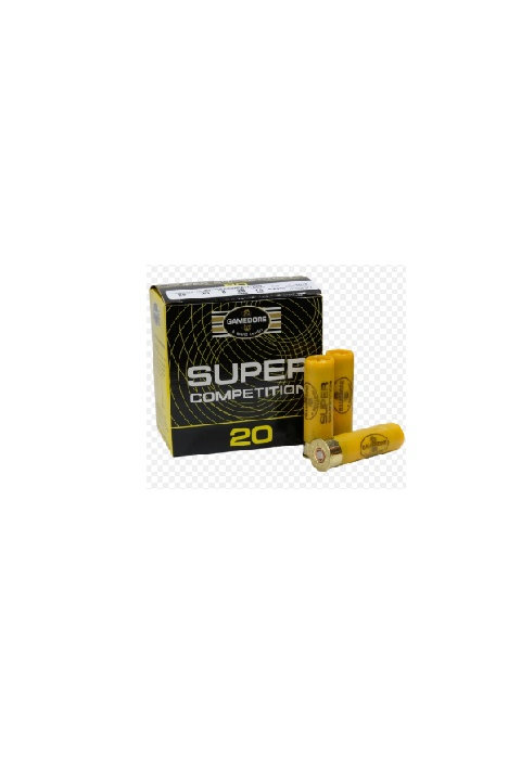 GAMEBORE SUPER COMPETITION 20G 8-28GRM FIBRE WAD £79.20 * IN STOCK IN STORE