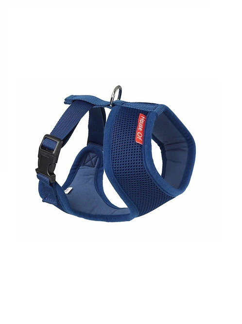 HOUSE OF PAWS NAVY MEMORY FOAM HARNESS SIZE M