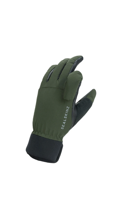 SEALSKINZ OLIVE GREEN/BLACK WATERPROOF ALL WEATHER SHOOTING GLOVE