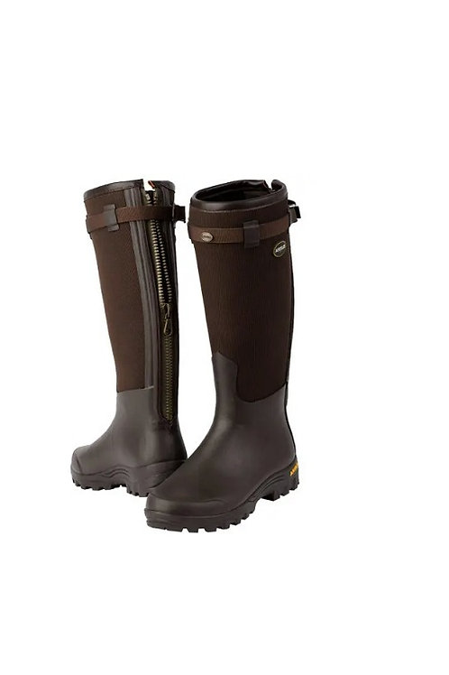 ARXUS LADIES PRIMO COUNTRY ZIP WELLINGTON BOOTS