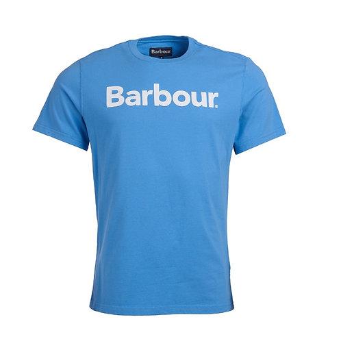 BARBOUR DELFT BLUE LOGO TEE
