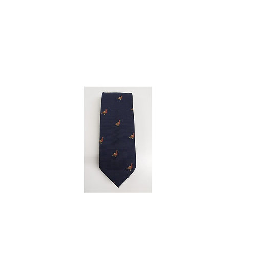 FORT AND STONE NAVY GROUSE TIE