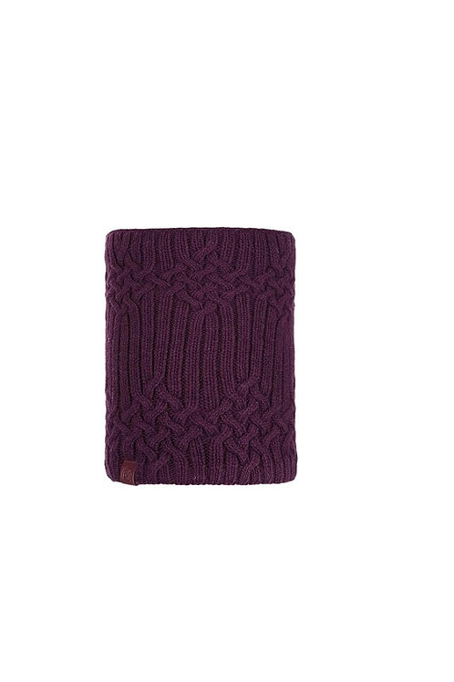 BUFF BURGUNDY NEW HELLE KNITTED AND POLAR NECKWEAR