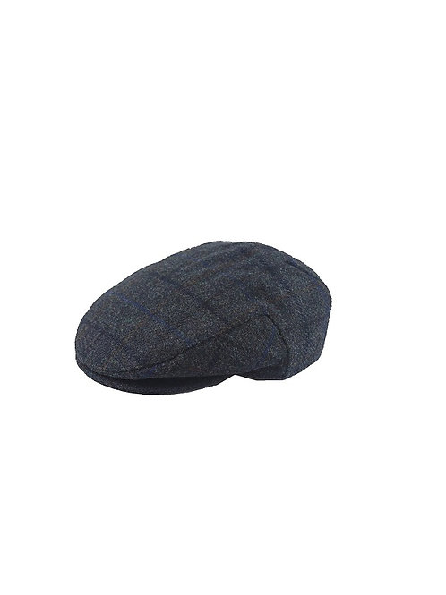 FAILSWORTH WATERPROOF FLAT CAP (3905) BLUE CHECK