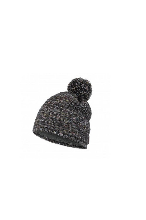 BUFF CASTLEROCK GREY GRETE KNITTED AND POLAR HAT