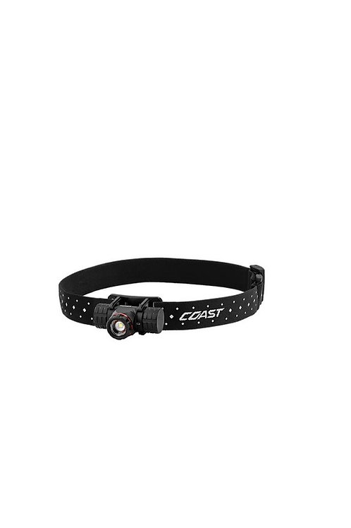 COAST XPH25R RECHARGEABLE DUAL POWER PURE BEAM HEAD TORCH