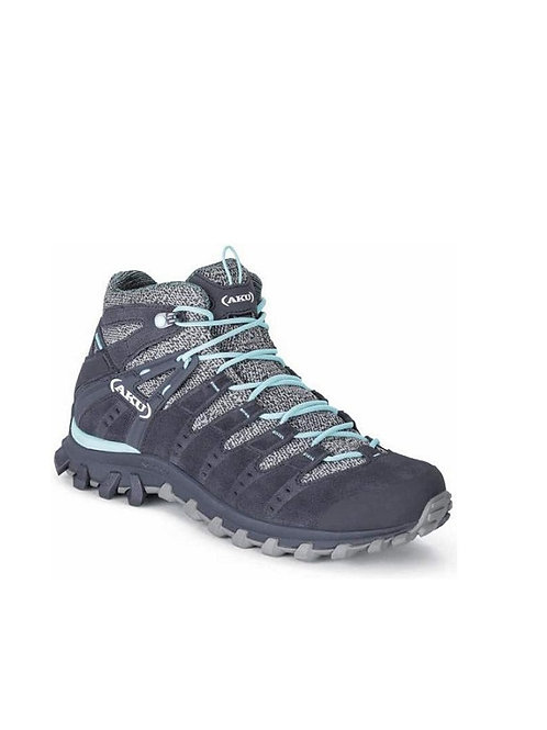 AKU LADIES ANTHRACITE/LIGHT BLUE ALTERRA LITE MID GTX BOOTS