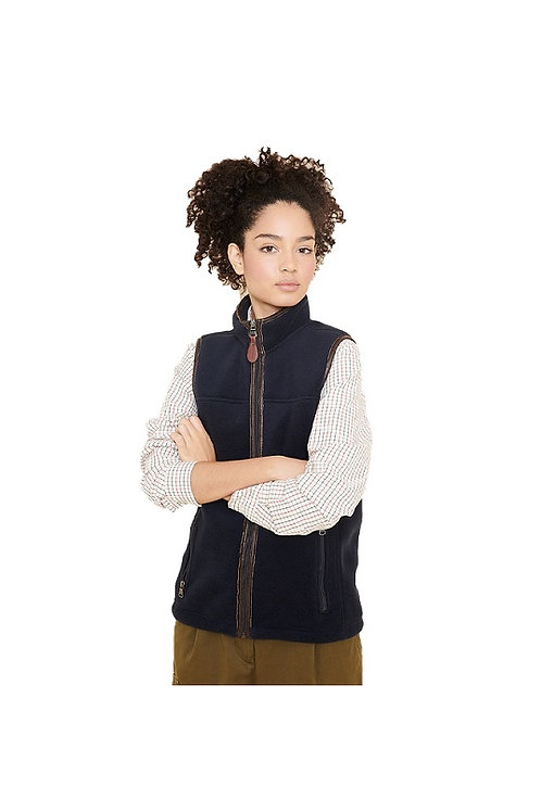 AIGLE LADIES NIGHT BLUE NEW SHEPPER FLEECE VEST