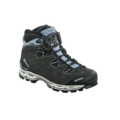 MEINDL LADIES ANTHRAZIT/ AZURE AIR REV. ULTRA WALKING BOOTS