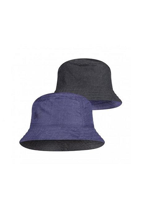 BUFF EIDEL DENIM/BLUE TRAVEL BUCKET HAT
