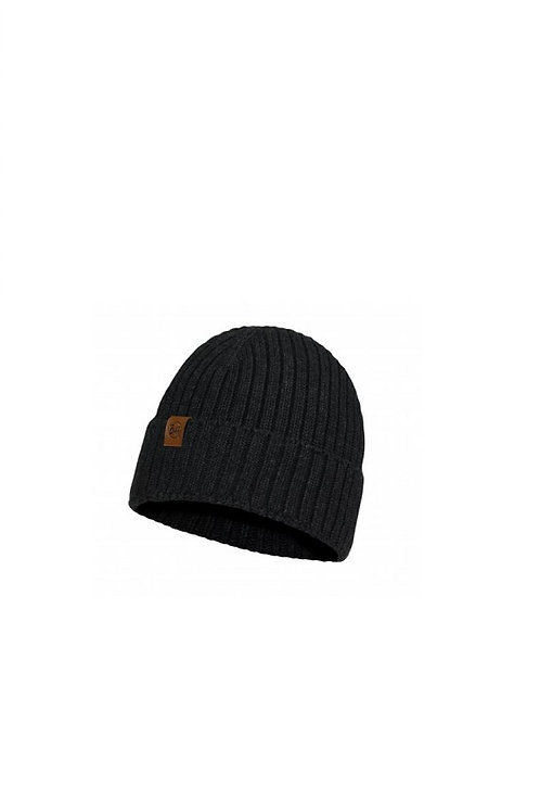 BUFF GRAPHITE NEW HELLE KNITTED HAT