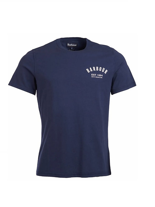 BARBOUR NEW NAVY PREPPY T-SHIRT