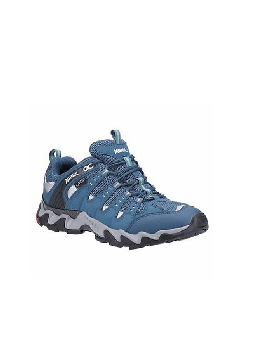 MEINDL LADIES PETROL/TURQUOISE RESPOND GTX WALKING SHOES