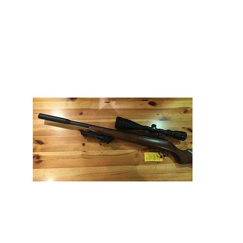 CZ 455 17 HMR BOLT ACTION RIFLE WOOD STOCK (USED)