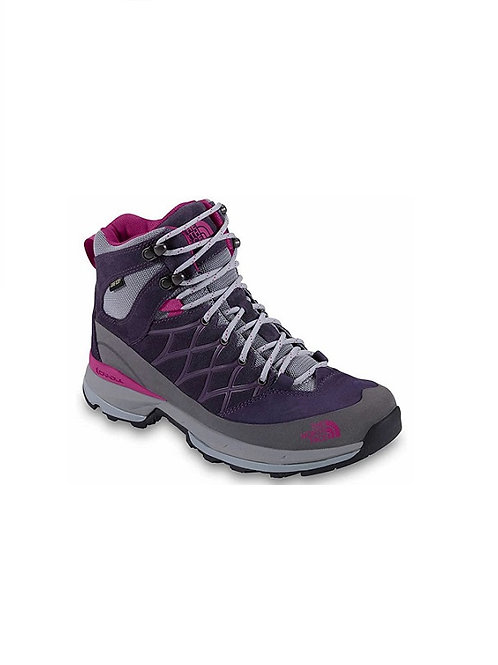 THE NORTH FACE LADIES GRAND PURPLE/FUSCHIA PINK WRECK MID GTX BOOTS