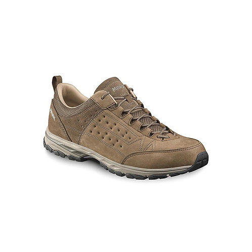 MEINDL BROWN DURBAN LEATHER LINED WALKING SHOES