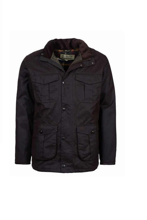 BARBOUR RUSTIC LATRGG WAXED JACKET
