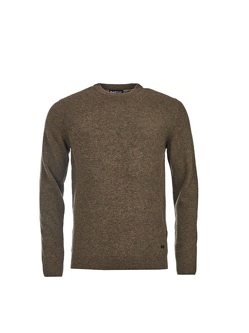 BARBOUR WILLOW PATCH CREW NECK JUMPER