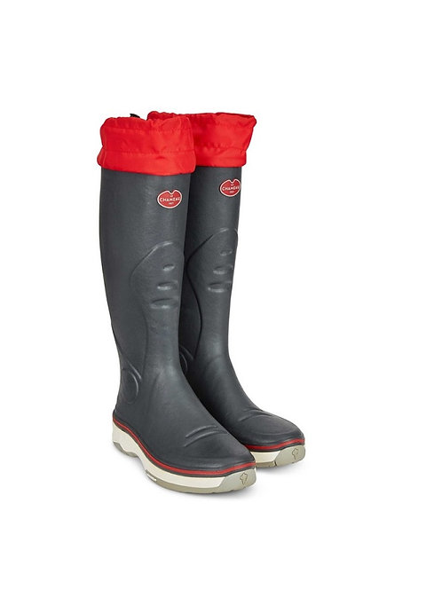 LE CHAMEAU MENS ALIZE GRIS ARDEISE WELLY BOOTS
