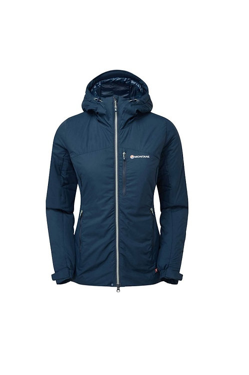 MONTANE LADIES NARWHAL BLUE FLUXMATIC JACKET