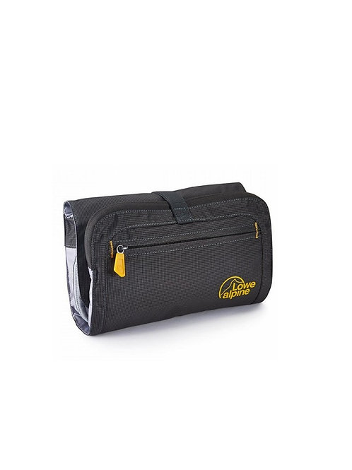 LOWE ALPINE ANTHRACITE ROLL UP WASH BAG