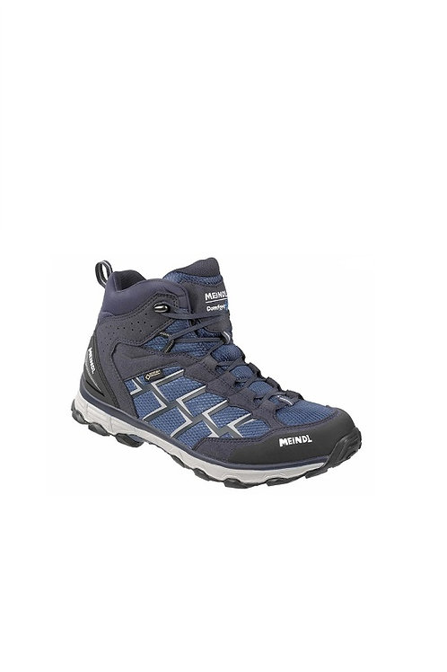 MEINDL BLUE/SILVER ACTIVO MID GTX COMFORT FIT WALKING BOOTS