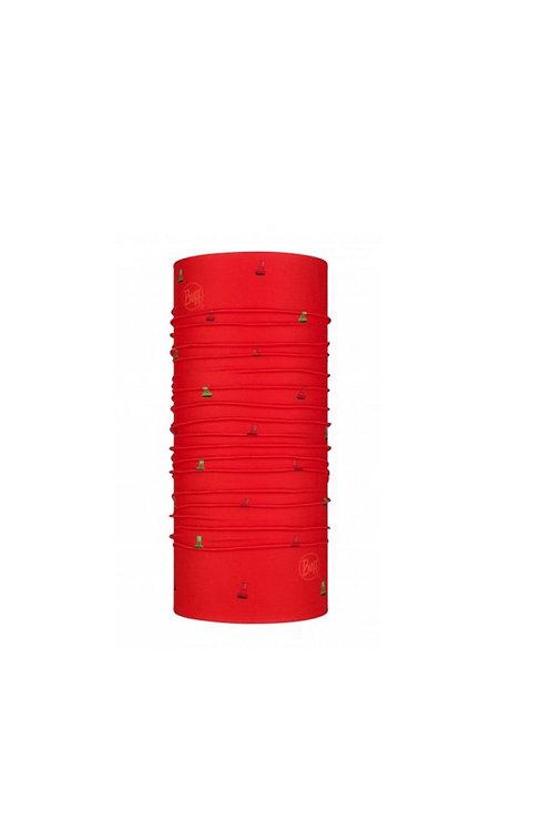 BUFF CHANNELS RED ORIGINAL  NECKWEAR