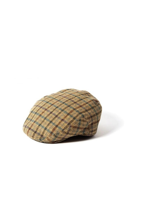 FAILSWORTH  BROWN/BLUE CHECK (1181) GAMEKEEPER FLAT CAP