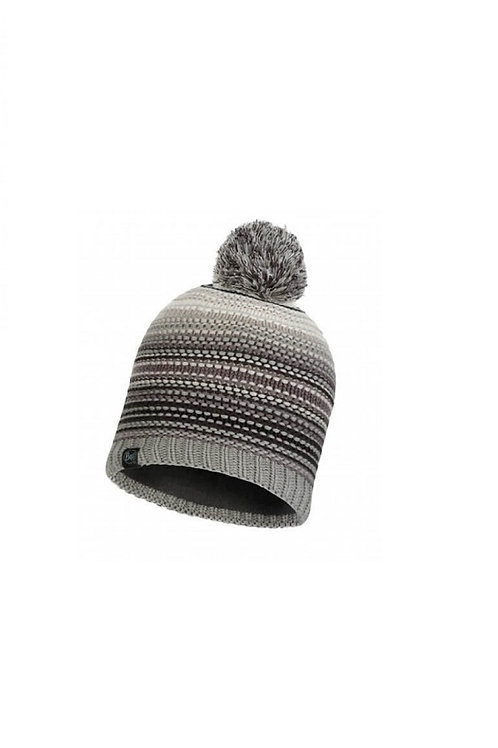 BUFF ELENI GREY NEPER KNITTED AND POLAR HAT