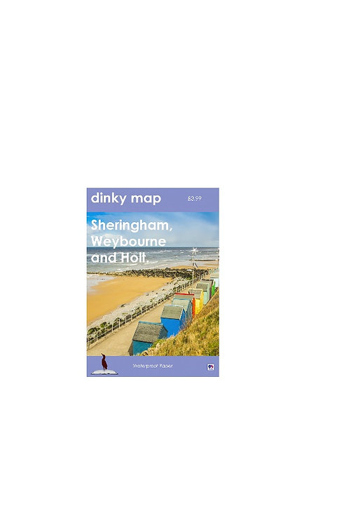 DINKY MAP SHERINGHAM, WEYBOURNE AND HOLT