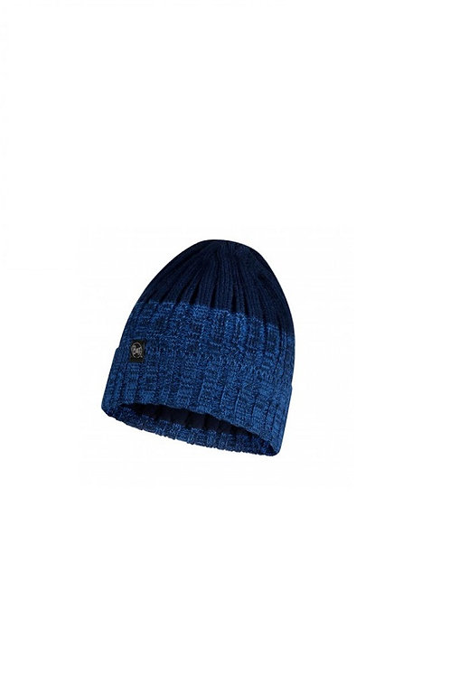 BUFF NIGHT BLUE IGOR KNITTED AND POLAR HAT