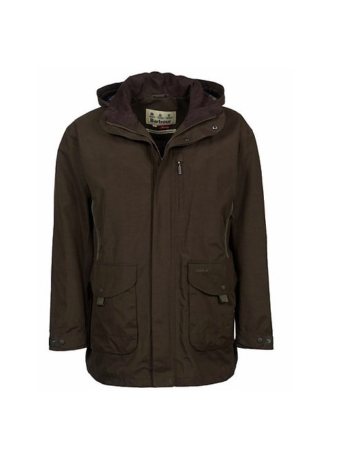 BARBOUR DARK OLIVE GOSFORTH JACKET