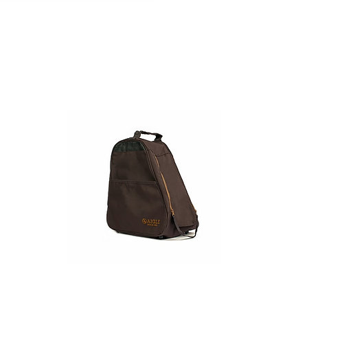 AIGLE BROWN CLASSIC ANKLE BOOT BAG