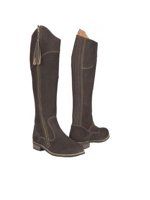 Toggi Ladies Bitter Chocolate Suede Long Country Boot