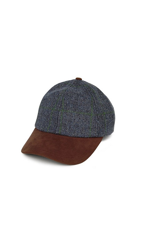 FAILSWORTH BLUE/MOSS TWEED (534) EPSOM BASEBALL HAT