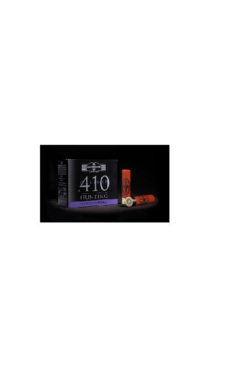 GAMEBORE HUNTING 410G  6-9GRM 50MM PLASTIC WAD £6.62 * IN STOCK IN STORE