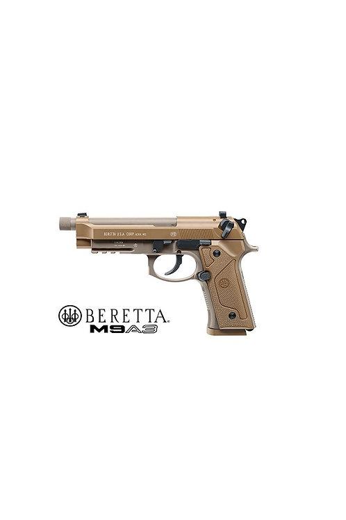 UMAREX BERETTA M9A3 FULL METAL MILITARY AIR PISTOL .177 STEEL BB