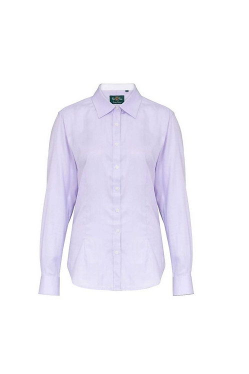 ALAN PAINE LADIES LILAC BROMFORD SHIRT
