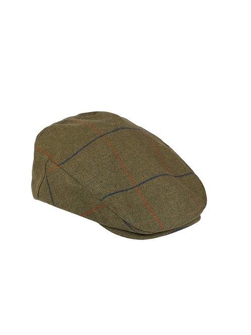 ALAN PAINE BASIL AXFORD WATERPROOF TWEED CAP