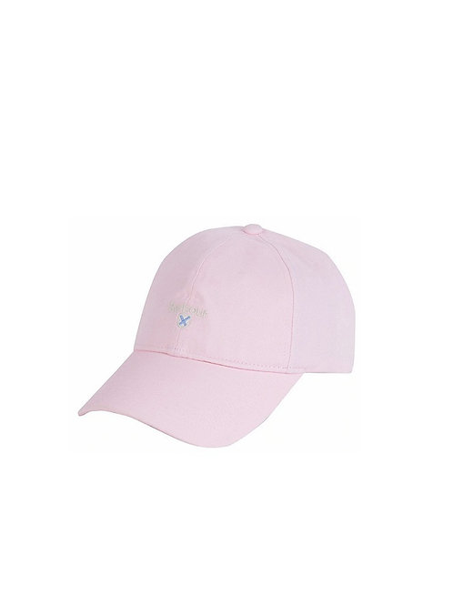 BARBOUR LADIES BLOSSOM PINK BORTHWICK SPORTS CAP