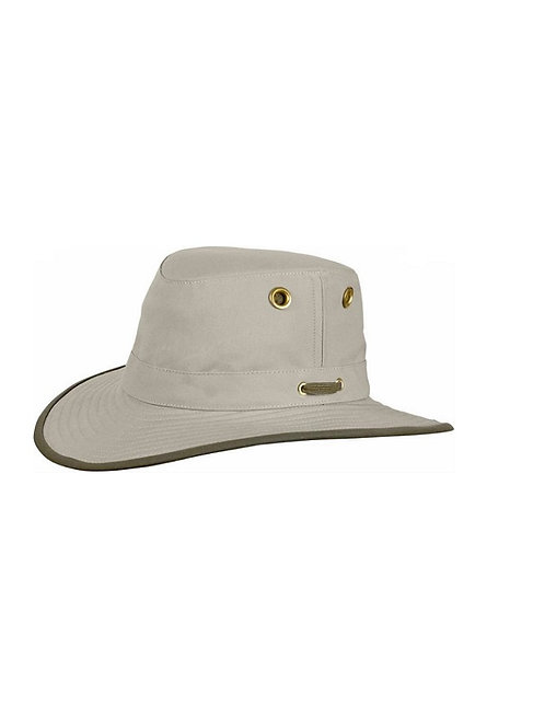 TILLEY KHAKI T055 ORBIT ORGANIC COTTON HAT