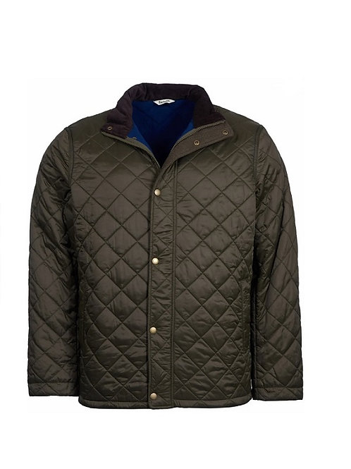 BARBOUR  OLIVE HAWKSHEAD QUILTED JACKET