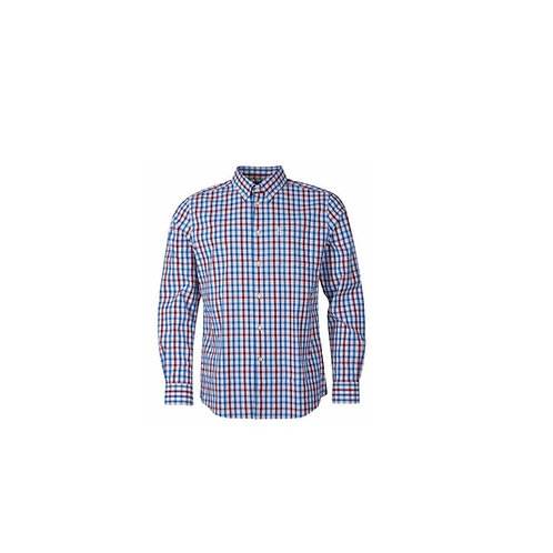 BARBOUR RED HALLHILL PERFORMANCE FIT SHIRT