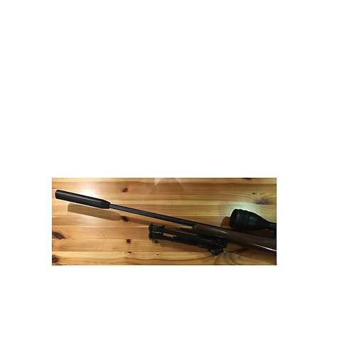 CZ 455 17 HMR BOLT ACTION RIFLE WOOD STOCK (USED)