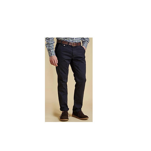 BARBOUR NAVY NEUSTON TWILL TROUSERS