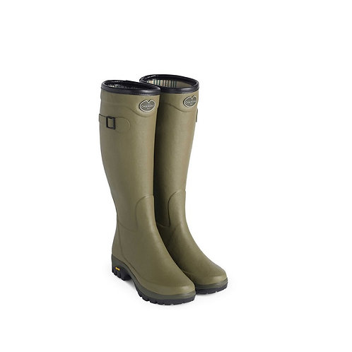 LE CHAMEAU LADIES VERT COUNTRY VIBRAM WELLY BOOTS