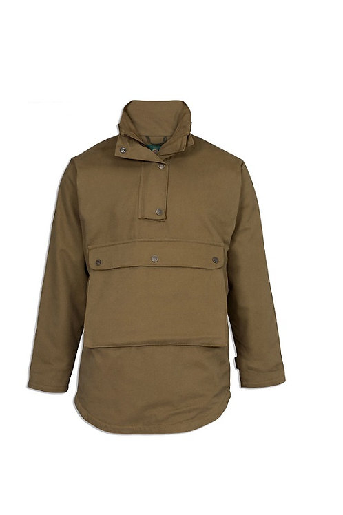 ALAN PAINE OLIVE CHATBOURNE WATERPROOF SMOCK - SHOOTING FIT
