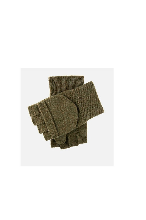 DENTS OLIVE GLOCK KNITTED CAP MITT SHOOTING GLOVES